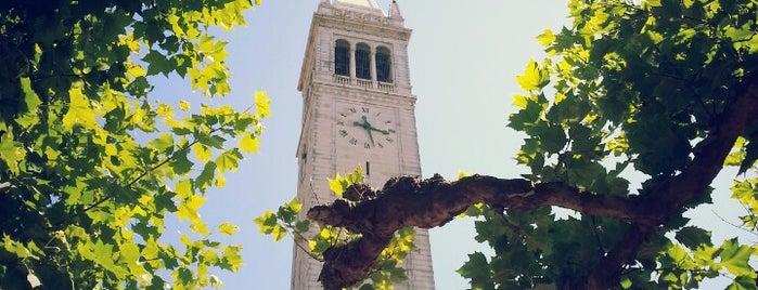 Campanile (Sather Tower) is one of Berkeley Sights & Bites.