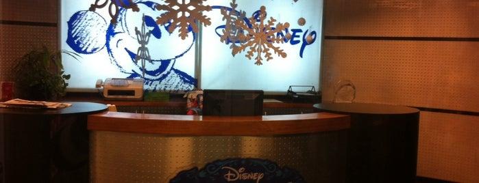 Walt Disney Company is one of Canales de TV.