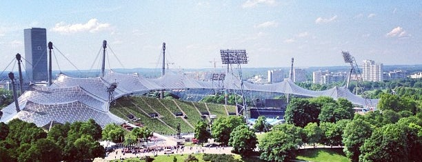 Olympic Stadium is one of UEFA Champions League finals.