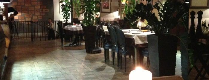 Gusto Italian Restaurant is one of ресторации.
