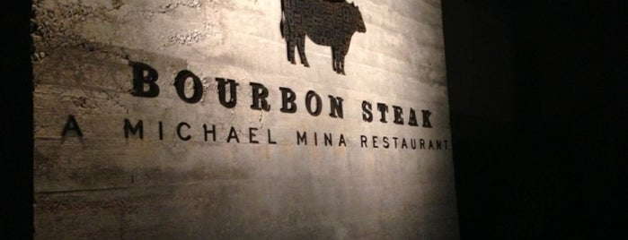 Bourbon Steak is one of Travel Places.