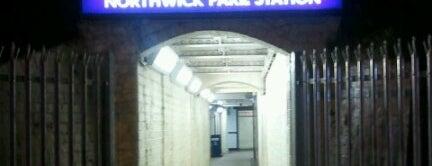 Northwick Park London Underground Station is one of Tube Challenge.