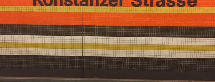 U Konstanzer Straße is one of U-Bahn Berlin.
