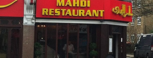 Mahdi Persian Restaurant is one of places to eat.