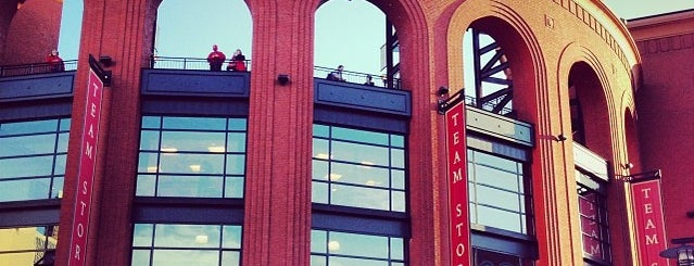 Busch Stadium is one of MLB Stadiums.