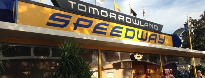 Tomorrowland® Speedway is one of Magic Kingdom Guide by @bobaycock.