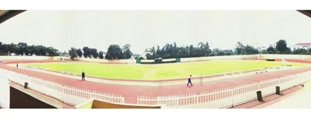 Velodrome Rawamangun is one of Enjoy Jakarta 2012 #4sqCities.