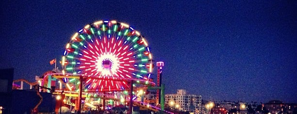 Santa Monica Pier is one of Not so rainy day.