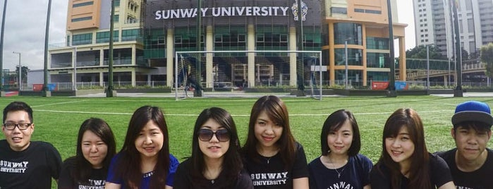 Sunway University is one of F&B.