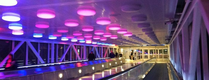 Indianapolis International Airport (IND) is one of Venue.