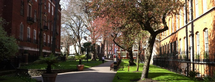 Mount Street Gardens is one of M!.