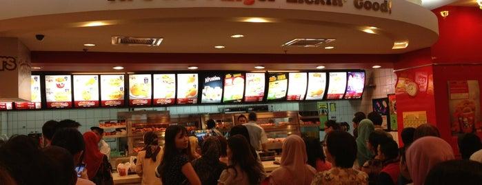 KFC is one of F&B.