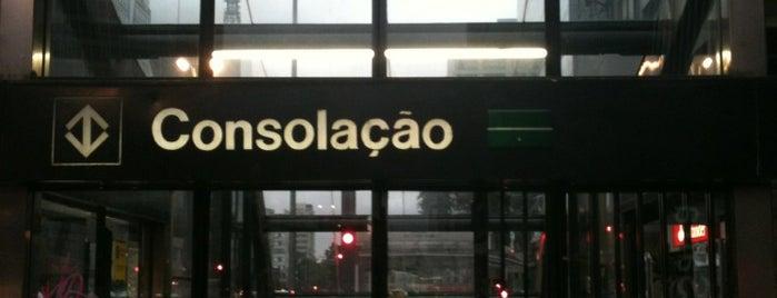 Estação Consolação (Metrô) is one of Metro Sp.