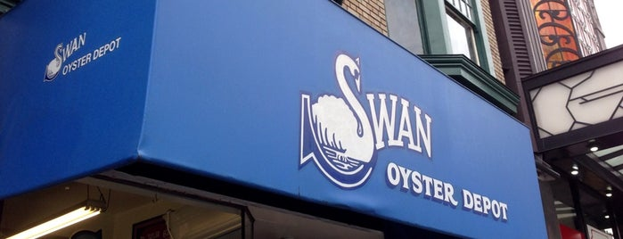 Swan Oyster Depot is one of San Francisco Eater 38.