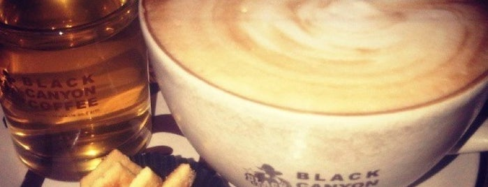 Black Canyon Coffee is one of places.