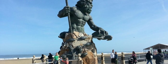 The King Neptune Statue is one of A local's guide: 48 hours in Virginia Beach, VA.