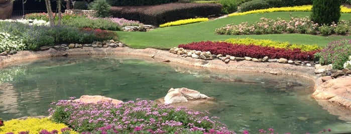 Victoria Garden is one of Epcot World Showcase.