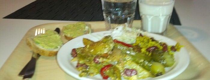 Kasvisbaari is one of vill äta på.