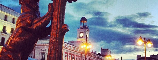 Puerta del Sol is one of places.