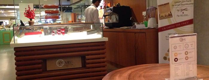 Otaru Baumkuchen is one of Baker Dozen Badge in Jakarta.