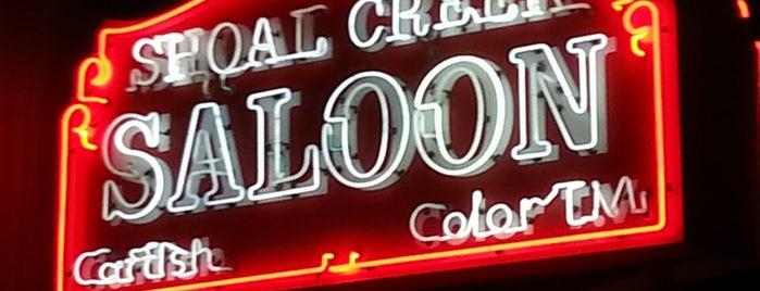 Shoal Creek Saloon is one of 20 favorite restaurants.