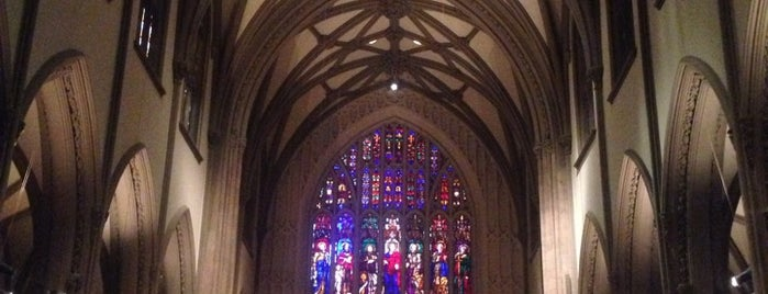 Trinity Church is one of Architecture - Great architectural experiences NYC.