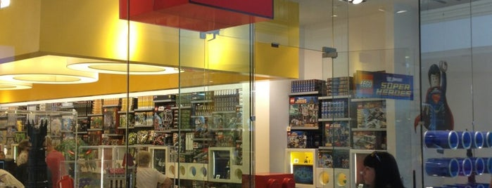 The LEGO Store is one of Hunger Games.