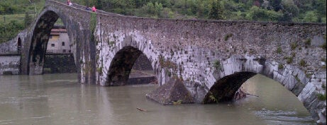 Ponte della Maddalena is one of Tuscany.