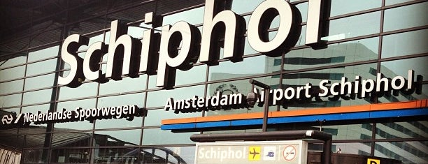 Flughafen Amsterdam Schiphol (AMS) is one of Airports been to.