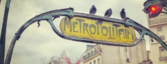Métro Blanche [2] is one of Métro de Paris.