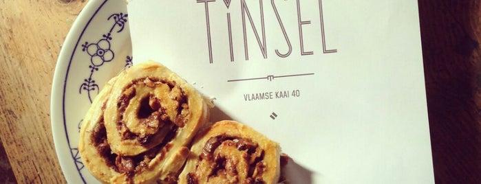 Tinsel is one of Gent // Brussel // Antwerpen.