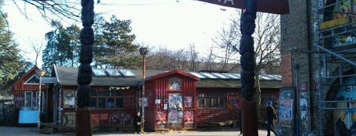 Christiania is one of Copenhagen #4sqCities.