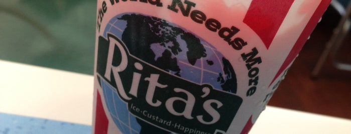 Rita's Italian Ice is one of work.