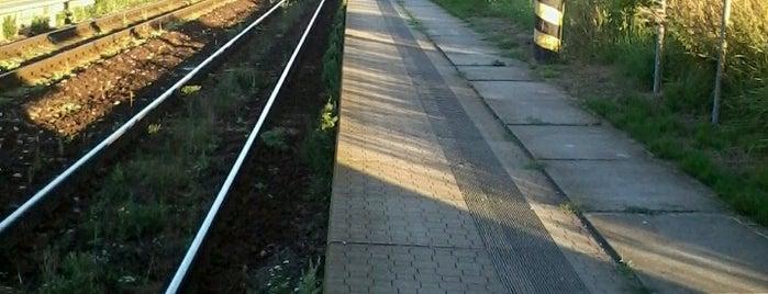 Železniční zastávka Třebešice is one of Železniční stanice ČR: Š-U (12/14).