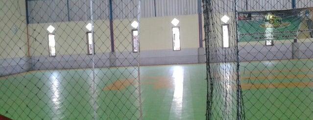 Anugerah Sport Centre ( International Futsal Court @ Bontang ) is one of Lapangan Futsal.