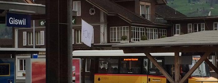 Bahnhof Giswil (ZB) is one of Bahnhöfe Top 200 Schweiz.