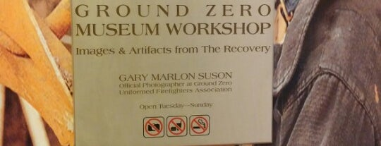 Ground Zero Museum Workshop is one of New York.
