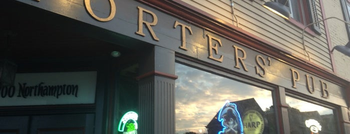 Porters' Pub & Restaurant is one of Awesome Easton.