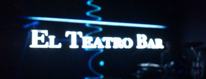 El Teatro Bar is one of Top 10 favorites places in Caracas, Venezuela.