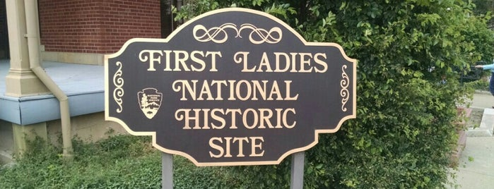 First Ladies National Historic Site is one of National Parks.