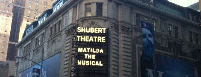 Shubert Theatre is one of NYC Broadway Theatres.