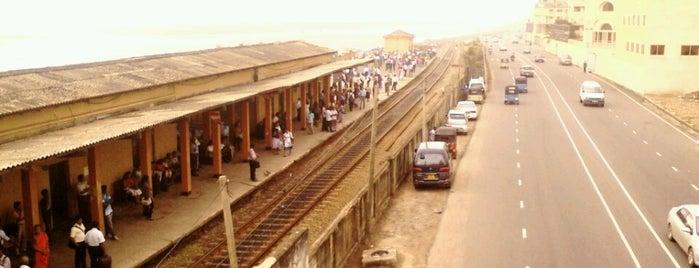 Bambalapitiya Railway Station is one of Railway Stations In Sri Lanka.