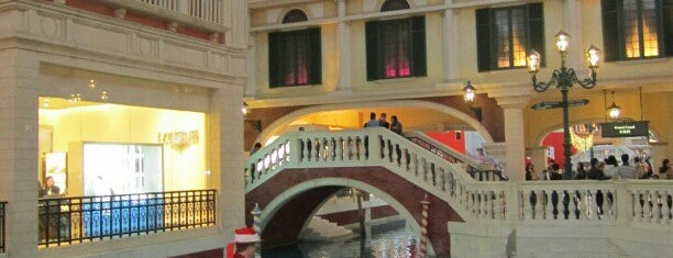 The Venetian Macau Resort is one of Favorite Places Around the World.