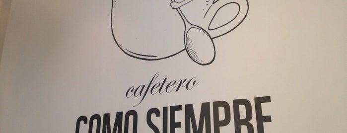 꼬모쌤쁘레 (COMO SIEMPRE) is one of Coffee&desserts.