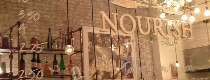 Nourish Kitchen + Table is one of NYC Restaurants: To Go Pt. 2.