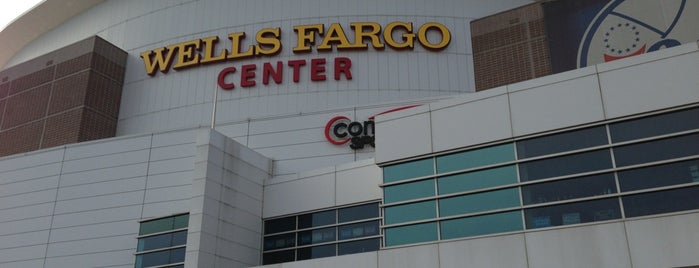 Wells Fargo Center is one of 2 do list # 2.