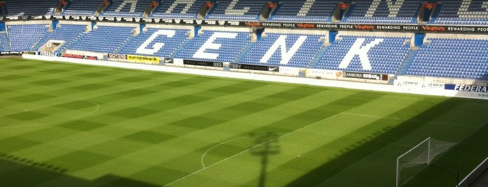 Luminus Arena is one of Jupiler Pro League and Belgacom League - 2013-2014.