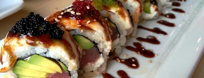 The Cowfish Sushi Burger Bar is one of Raleigh Favorites.