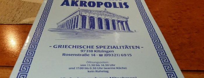 Akropolis is one of All-time favorites in Germany.