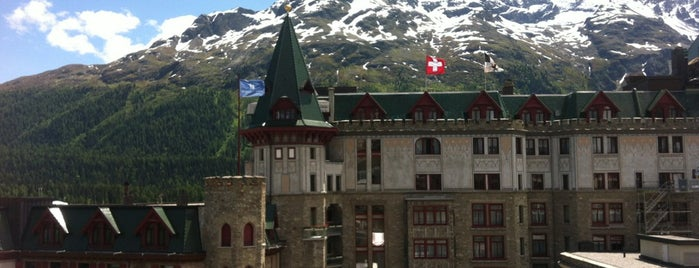 St. Moritz is one of Skiing.